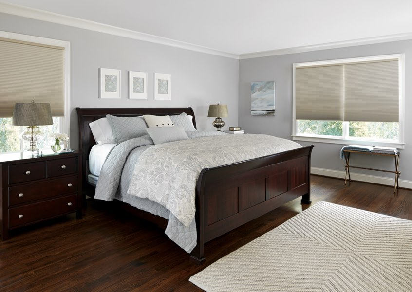 Indianapolis blackout shades bedroom